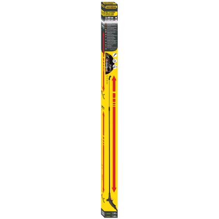 Lance télescopique composite - 3,60m pour pulvérisateur Berthoud